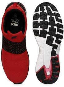 Fila Mens Hyper Blow Rd/Blk Lifestyle Shoes