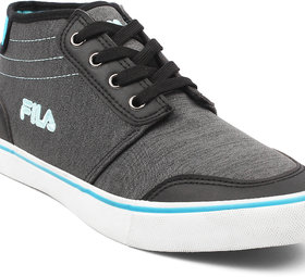 Fila Mens Briggs Blk/Blu Lifestyle Shoes