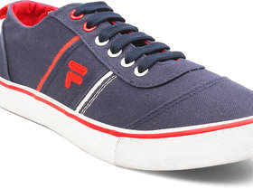 Fila Mens Korbin Nvy/Wht/Rd Lifestyle Shoes