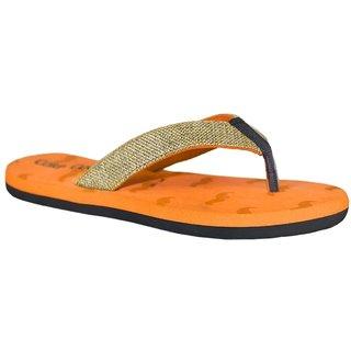 Stylos Men's 152 Orange Slippers