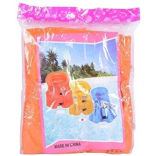 Planet Of Toys Inflatable Swimming Vest - Orange For Kids / Children