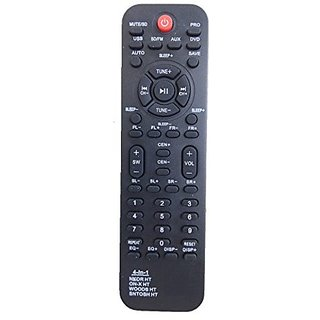 LipiWorld 4 IN 1 SANTOSH Home Theater System Remote Control Compatible For Home Theater SANTOSH