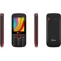 Mtech L6+ Dual Sim Feature Phone - Black  Red