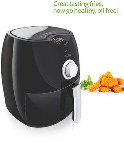 Glen Kitchen GL 3044 Air Fryer (Black) - 2 Year Warranty - Upto 80 Less Fat, Cooking Capacity 2.8 litres, 1350 Watt
