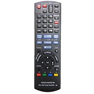 LipiWorld N2QAYB000734 BLU-RAY DISC PLAYER Remote Control Compatible For PANASONIC DISC PLAYER