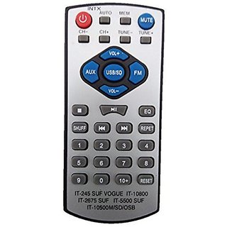 LipiWorld INTEX IT 10500M Home Theater System Remote Control Compatible For INTEX Home Theater