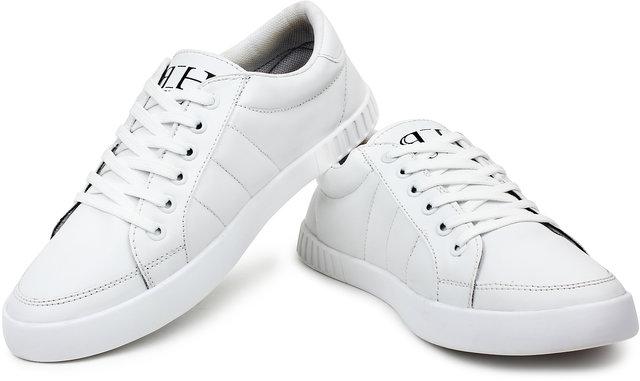 b85173e534ff Buy Buwch Men Casual White Sneaker Shoe For Men Boys Online @ ₹499 ...