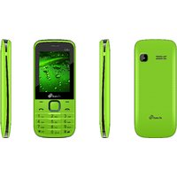 Mtech L6+ Dual Sim Feature Phone - Green  Black