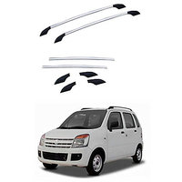 Aluminium Roofrails For Maruti Wagon R Old 2002-2009(6 Pieces)