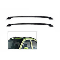 Car Stylish Drill Free Roof Rails BLACK- Datsun Go