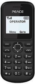 Peace Nano (Dual Sim, 1.4 Inch Display, 850 Mah Battery, Wireless FM)