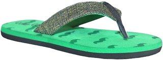 Stylos Men's 152 Green Slippers