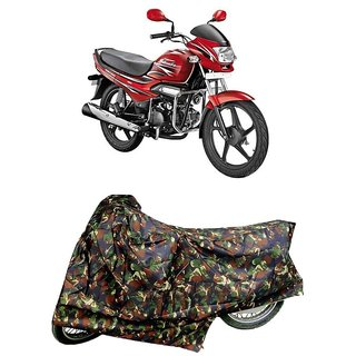 De AutoCare Premium Quality Junglee Matty Two Wheeler Bike Body Cover For Hero Splendor
