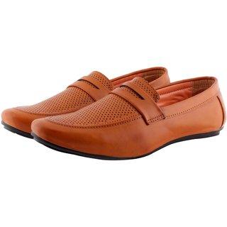 Smoky Men's Tan Loafers