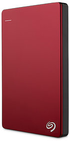 Seagate Back up Plus Slim 2 TB External Hard Drive (Red)