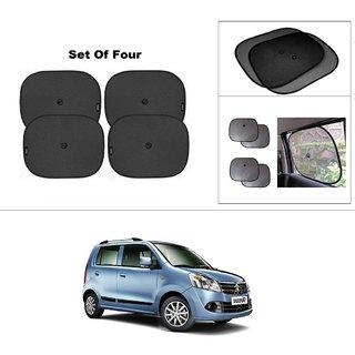 AutoStark Car Window Sunshades And Easy to install (Black) ForMaruti Suzuki Wagon R 1.0