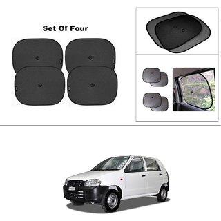 AutoStark Car Window Sunshades And Easy to install (Black) ForMaruti Suzuki Alto (Old)