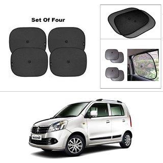 AutoStark Car Window Sunshades And Easy to install (Black) ForMaruti Suzuki Wagon R Duo