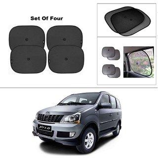 AutoStark Car Window Sunshades And Easy to install (Black) ForMahindra Xylo