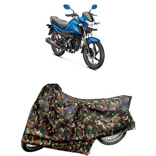 De AutoCare Premium Quality Junglee Matty Two Wheeler Bike Body Cover For Honda LIVO 110
