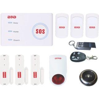 D3D Model D10 With WiFi/GSM sensor security system