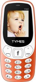 TYMES Y331 (Dual Sim, 1.77 Inch Display, 1000 Mah Batte