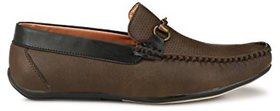 Big Fox Men's Solid Light Weight Loafers For Men