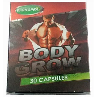 Dr Chopra Body Grow Capsules Combo of 2 Packs of 30 Caps