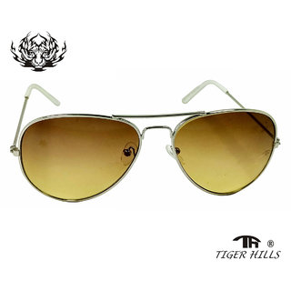 Tigerhills Sunglasses of Normal Black and hard frame Silver Model-T142189