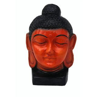 NoVowels Marble Gautam Buddha Idol for Peace & Luck