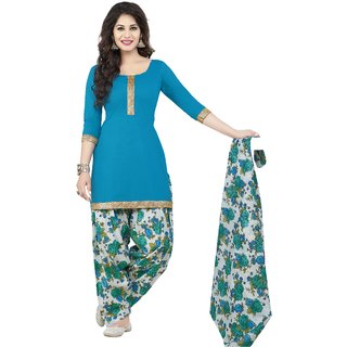 Parihar Collections Women'S Crepe Dress Material Dress Material (Unstitched)
