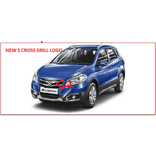 MARUTI S CROSS (NEW) FRONT GRILL DECALS/GRAPHICS/LOGO/MONO