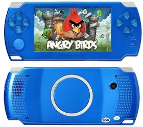 Goyal Traders Grand Classic GCL-02 PSP Console Blue 4 GB GB with 10000 Games  (Blue)