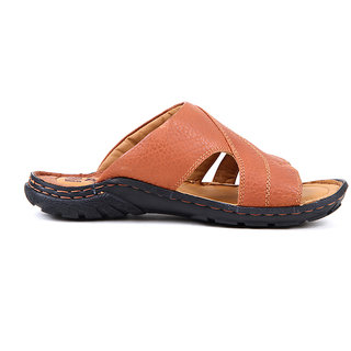 521e89d9551f Buy Red Chief Tan Men Casual Leather Slipper (RC0377 107) Online - Get 20%  Off