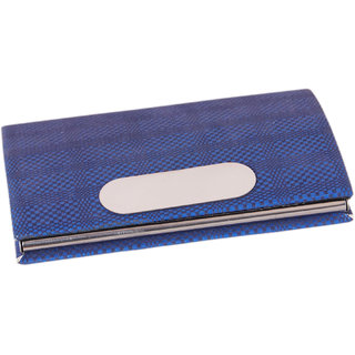 206-Blue RFID ATM / Visiting /Credit Card Holder,PAN/ Business Card Case Holder, ID Card Holder FOR MEN WOMEN,