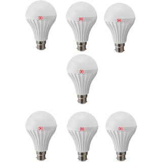 Alpha 12 Watt Pack of 7 LED Bulbs With One Year Replacement Warranty