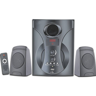 Oshaan S14 2.1 Multimedia Home Theater Speaker with Bluetooth