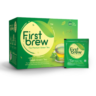 First Brew Tulsi Green Tea