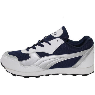 Sport Shoes - Men's Running Shoes Multi Sport Athletic Jogging Fitness White Silver