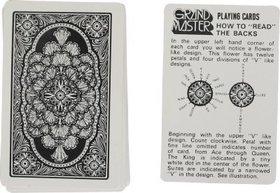 XTR GRAND MASTER Cheating Playing Cards (BLACK)