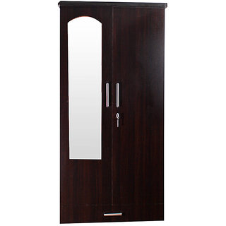 Caspian Super Delux 2 Door Wardrobe With Mirror