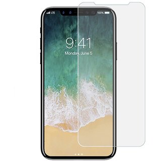 iPhone X Pack Of 2 Premium Tempered Glass 2.5D 0.3mm Anti Oil Glass