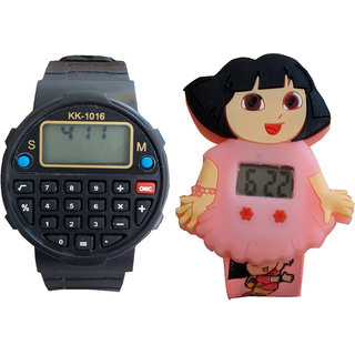 Kids Multi colour cute watch - Excellent Gift - Kids Favorate 1345980