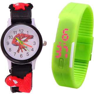 Kids Multi colour cute watch - Excellent Gift - Kids Favorate 1345982