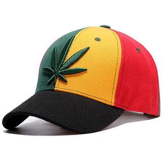 Weed Cotton Baseball Cap