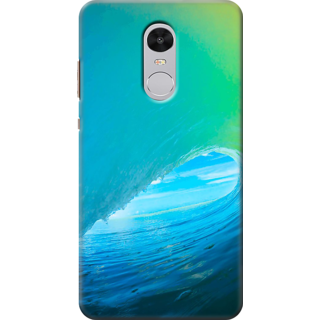 Redmi Note 4 Printed Back Case Cover - Surfin Waves Design
