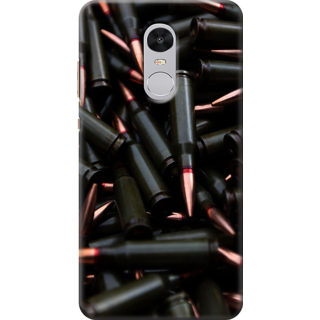 Redmi Note 4 Printed Back Case Cover - bullets Cartridge Design