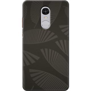 Redmi Note 4 Printed Back Case Cover - leaf design Design