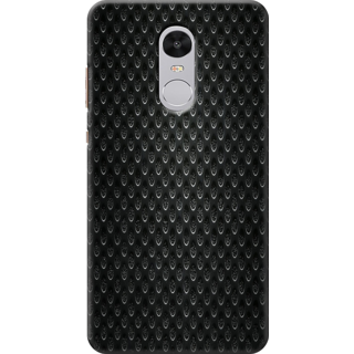 Redmi Note 4 Printed Back Case Cover - Carbon fibre Panel Design