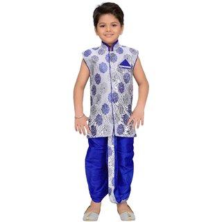 AJ Dezines Angrakha Dhoti Pant Set for Boys